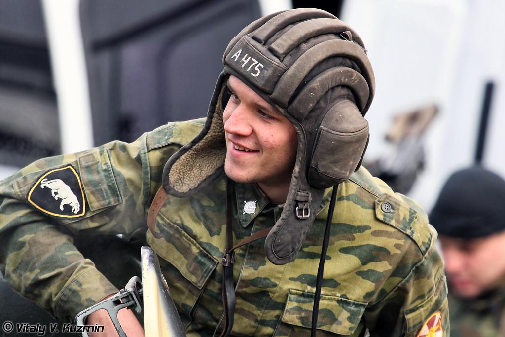 Военнослужащий ОДОН ВВ МВД России (Internal troops ODON division BTR driver)