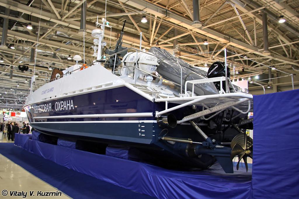 Скоростной патрульный катер проекта 12150 Мангуст (Speed patrol boat Mangust project 12150)