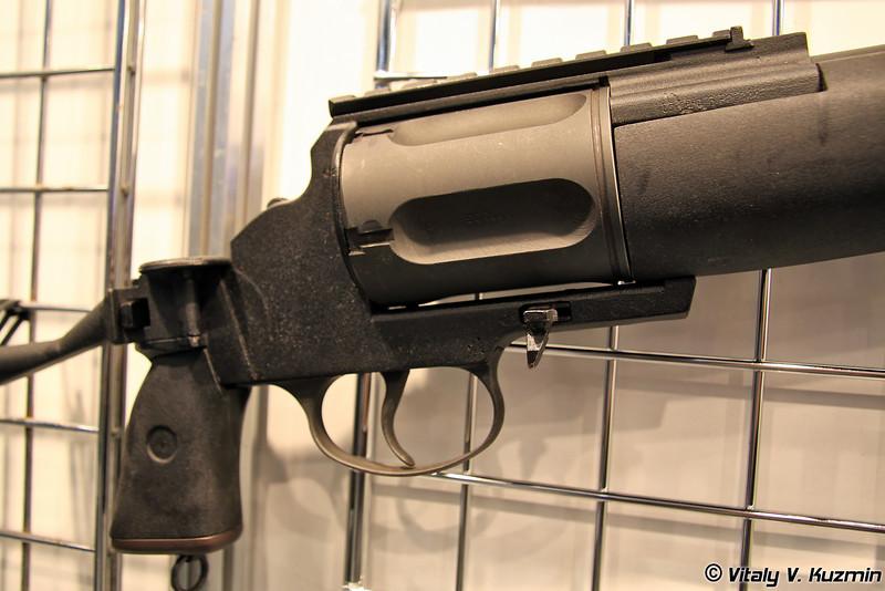 Револьверное ружье МЦ255-12 (MTs255-12 tactical revolver shotgun)