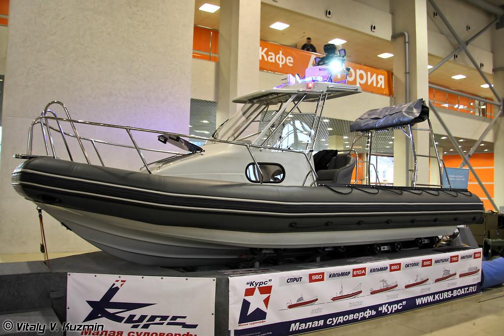 Катер Кальмар-610 (Kalmar-610 boat)