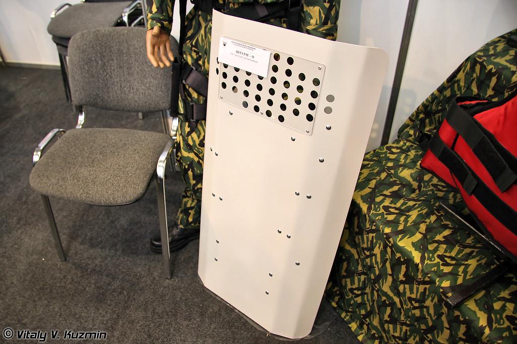 Щит защитный противоударный Штурм-О (Protective shield Shturm-O)
