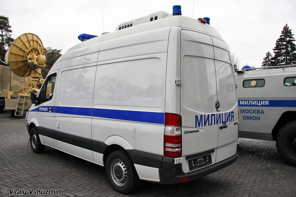 Спецавтомобиль оперативно-технической поддержки Обвалование (Mobile police command post Obvalovanie)