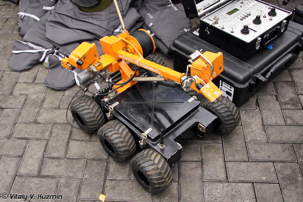 Мобильный робототехнический комплекс Вездеход-ТМ3 (Mobile robot complex Vezdekhod-TM3)