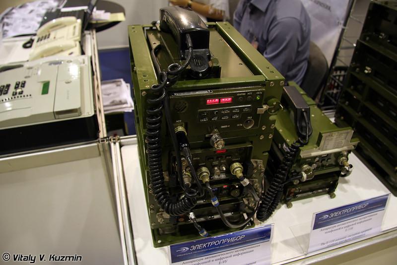 Аппаратура автоматического засекречивания телефонной и цифровой информации Е-9У (E-9U information encryption device)