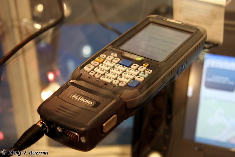 Персональный навигационно-связной аппаратно-программный комплекс Навик КПК (Navik KPK personal navigation and communication device)