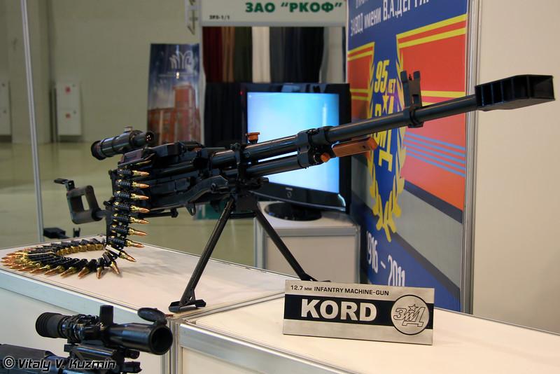 12,7-мм пулемет Корд (12,7mm Kord machinegun)