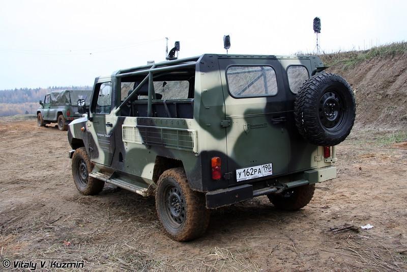 Скорпион-2М (Light tactical vehicle Skorpion-2M)