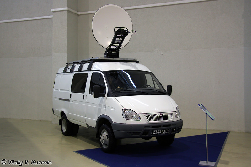 Мобильная станция спутниковой связи (Mobile satellite communication vehicle)