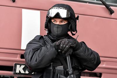 Военнослужащий 604-го ЦСН Витязь ВВ МВД России (Internal troops 604th Special purpose center Vityaz officer)