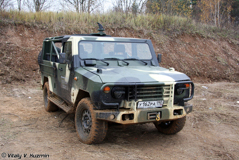 Скорпион-2М (Light tactical vehicle Skorpion-2M)