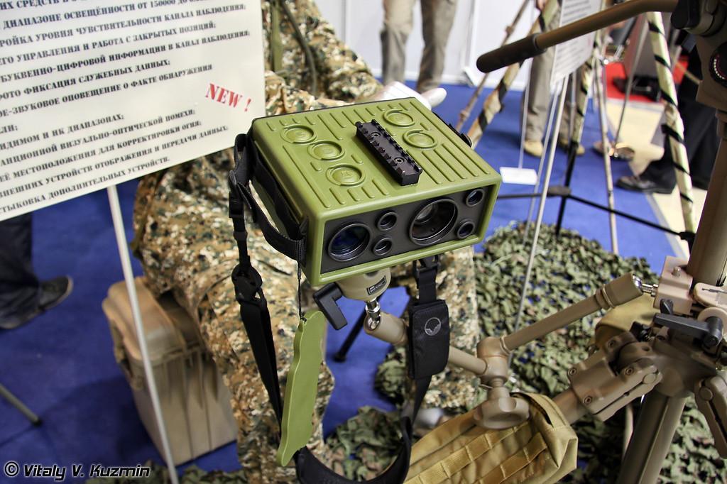 Прибор обнаружения оптических средств и наблюдения Антиснайпер (Antisniper surveillance and detection of optical systems device)