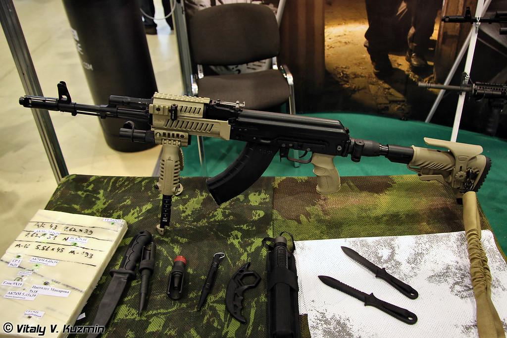Различный тюнинг от FAB DEFENSE (Rifles tuning from FAB DEFENSE compnay)