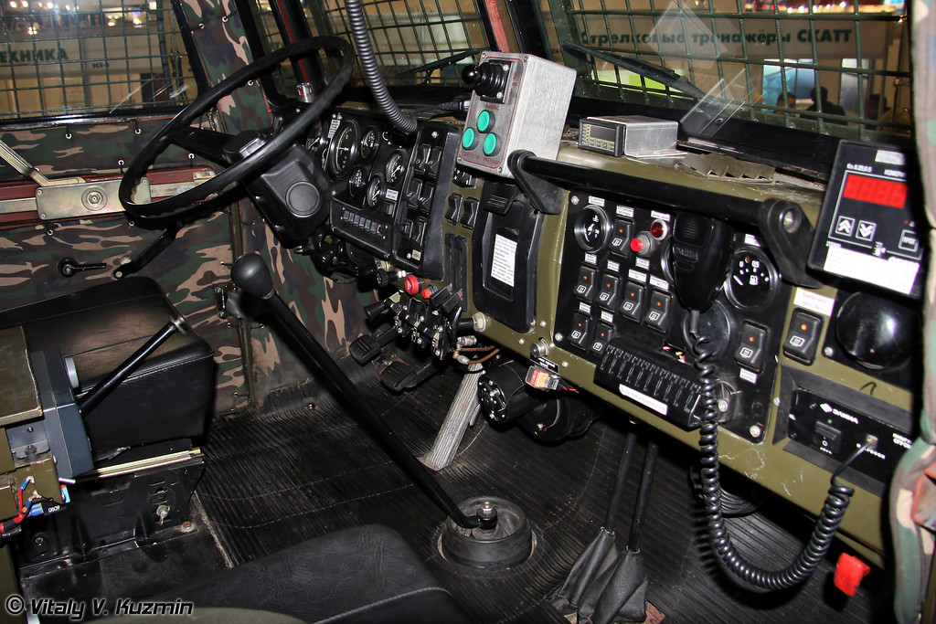 Специальная инженерная машина Урал-4320-1880-30И Торнадо (Special police vehicle Ural-4320-1880-30I Tornado)