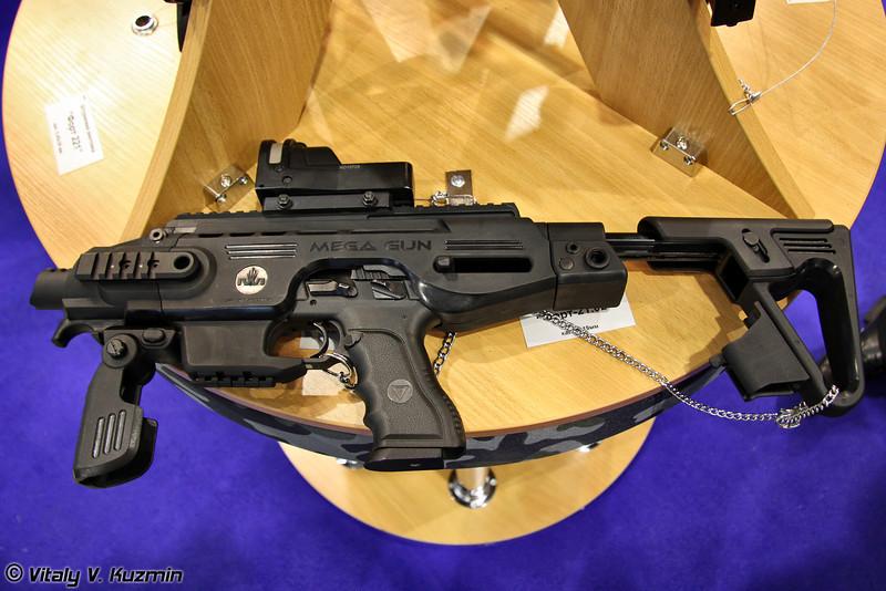 Пистолет Форт-21.02 с модулем Mega Gun (Fort-21.02 pistol with Mega Gun module)