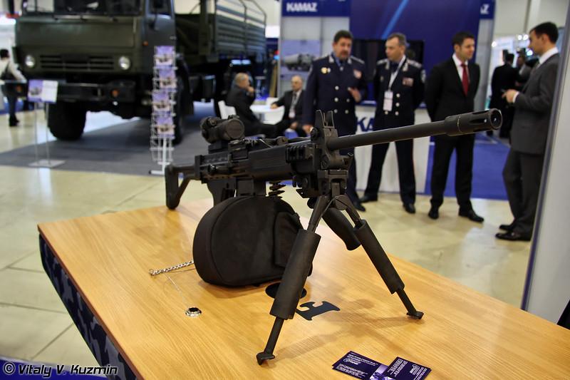 Пулемет Форт 401 (Ukrainian Fort 401 machinegun)