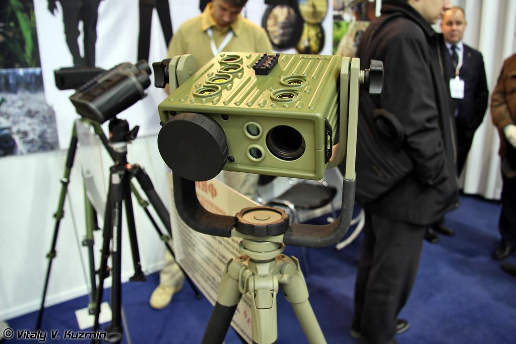 Тепловизионно-телевизионный прибор круглосуточного наблюдения и разведки Миф (Mif surveillance device)