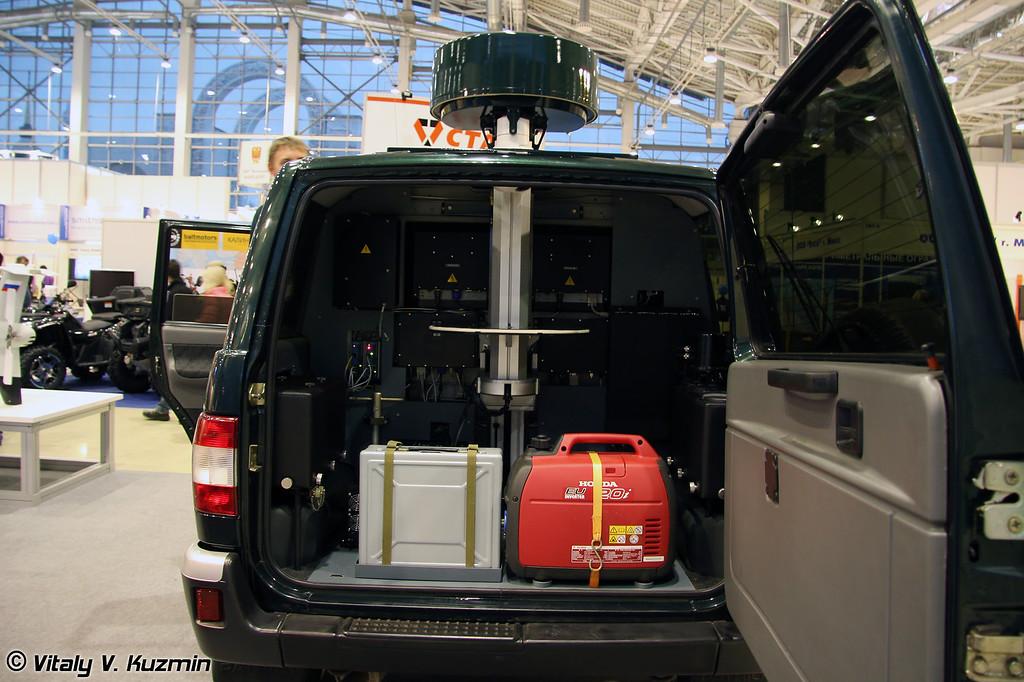 Мобильный комплекс наблюдения Патриот-Окапи-Н (Mobile ground situation control complex Patriot-Okapi-N)