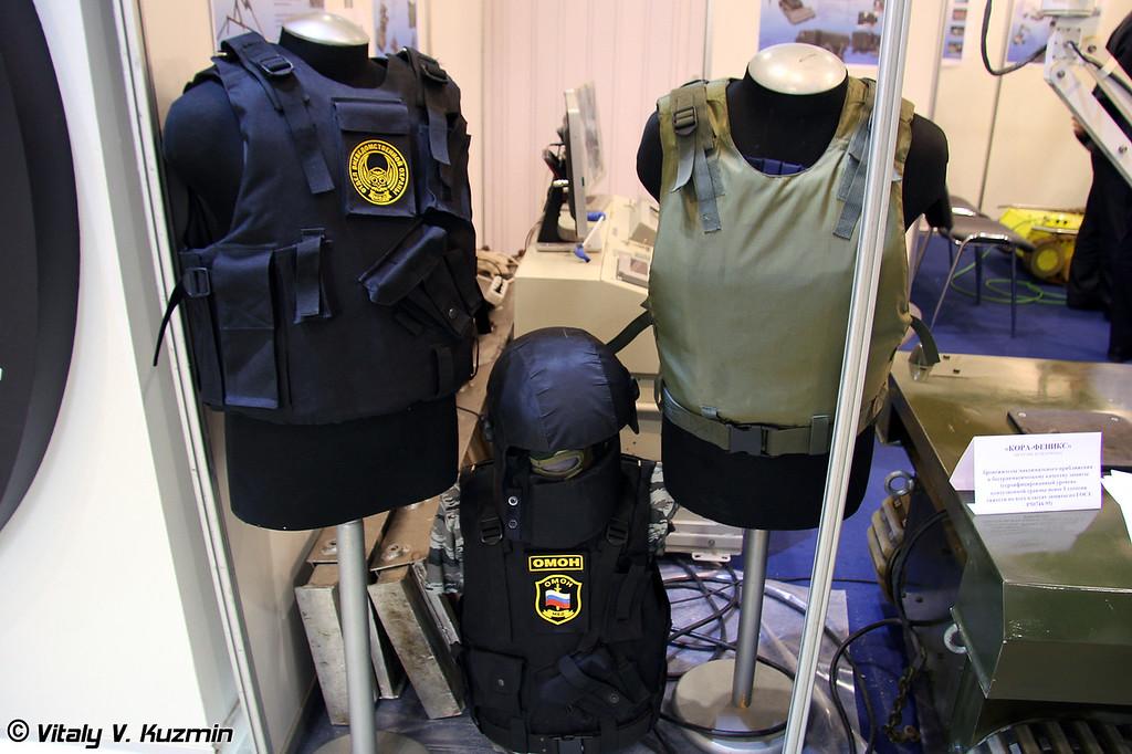 Бронежилеты Кора-Феникс (Kora-Feniks bulletproof vests)