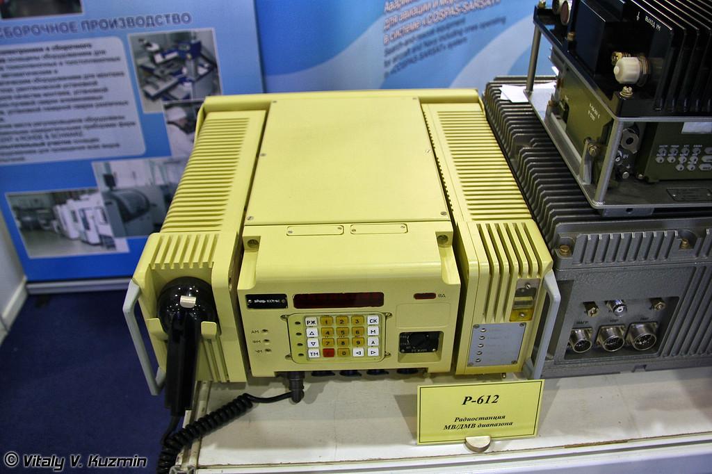 Радиостанция Р-612 (R-612 radiostation)