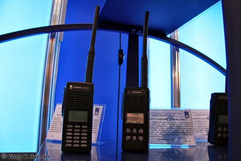 Радиостанции Альфа-302 и Альфа-302А (Alfa-302 and Alfa-302A radiostations)