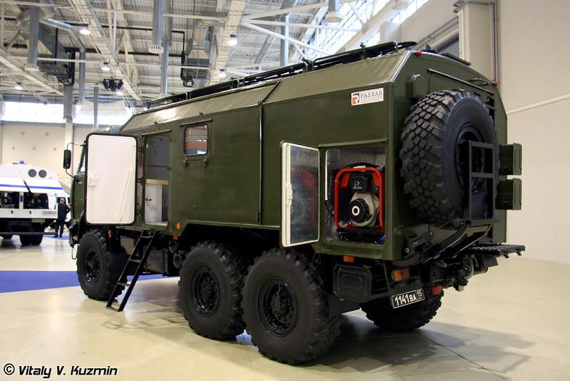 Автоперевязочная АП-2 на шасси КАМАЗ-43114 (AP-2 medic vehicle on KAMAZ-43144 chassis)