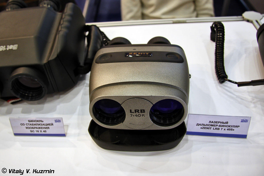 Малогабаритный лазерный дальномер Zenit LRB 7x40S (Laser rangefineder Zenit LRB 7x40S)