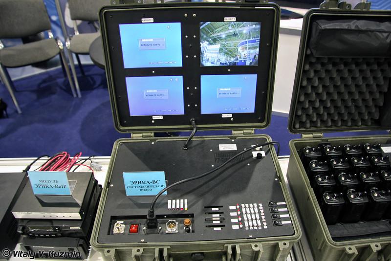 Мультимедийная система ЭРИКА-ВС предназначена для передачи высококачественной видео и аудио информации в режиме реального времени с места события в случае экстренной ситуации, аварии и в других чрезвычайных происшествиях (ERIKA-VS video and audio transmitter)
