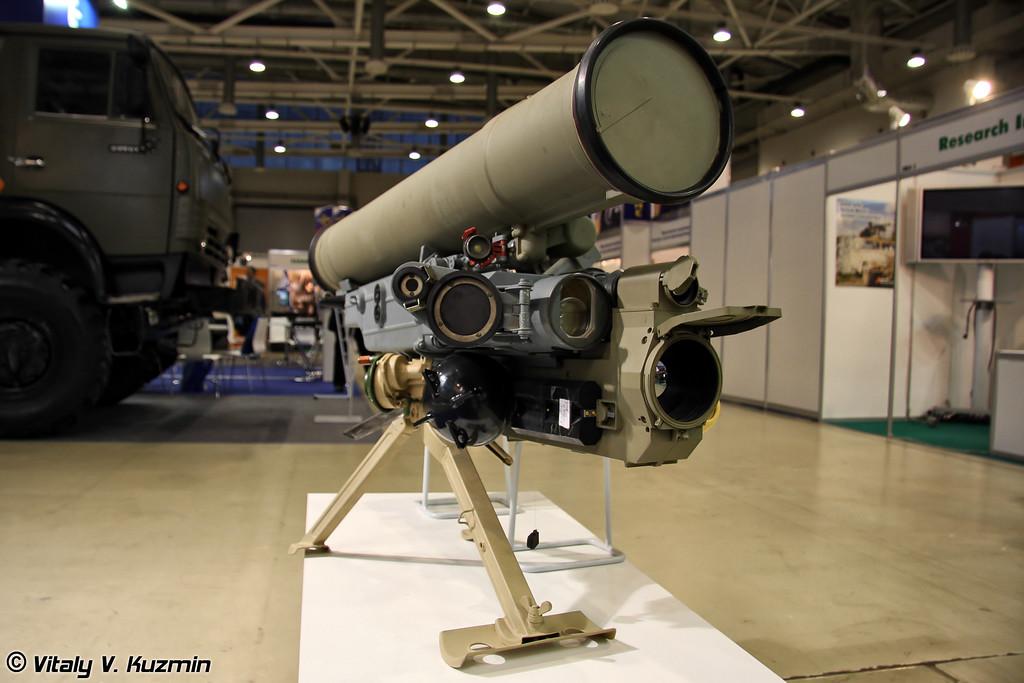 Противотанковый ракетный комплекс Метис-М1 (Antitank missile system Metis-M1)