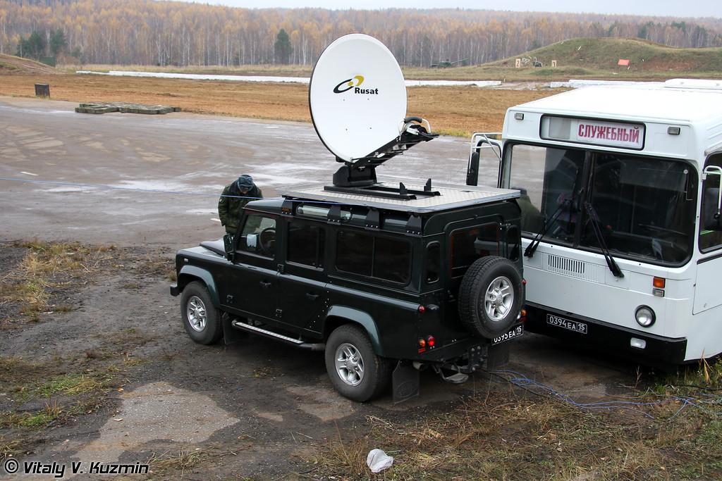 Передвижная репортажная спутниковая станция (Mobile satellite station)