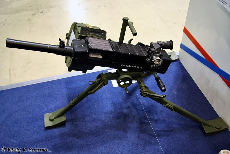 30-мм автоматический гранатомет АГС-30 (30mm AGS-30 grenade launcher)