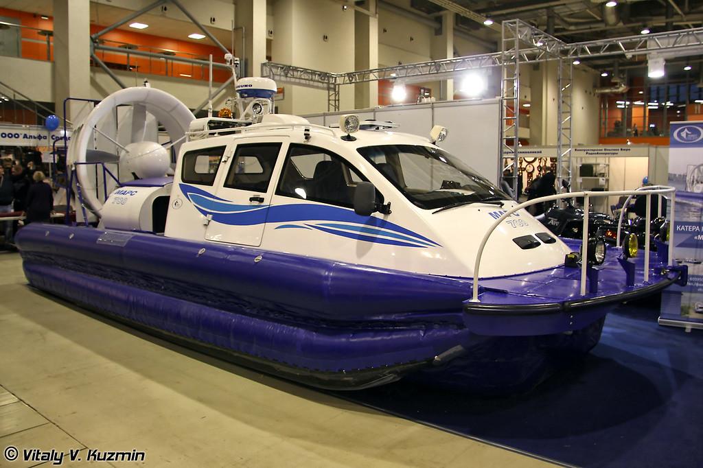 Судно на воздушной подушке Марс 700 (Mars 700 hovercraft)