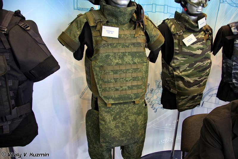 Бронежилет БЖ-ВВ (BZh-VV bulletproof vest)