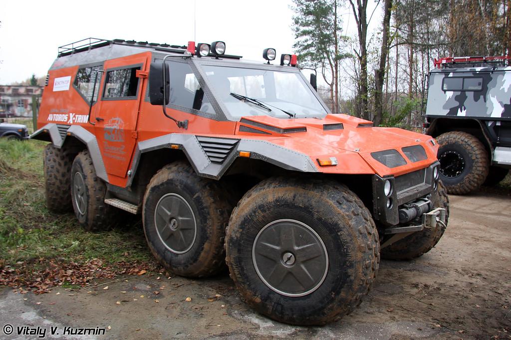 Опытный образец вездехода Z-83 (Z-83 all-terrain vehicle)