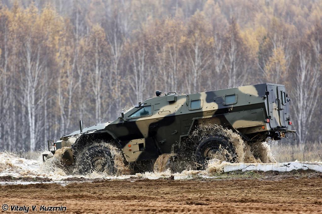 """КАМАЗ-43269 """"Выстрел"""" (KAMAZ-43269 Vistrel)"""