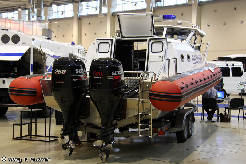 Катер Альянс-8,5 (Al'yans-8,5 boat)
