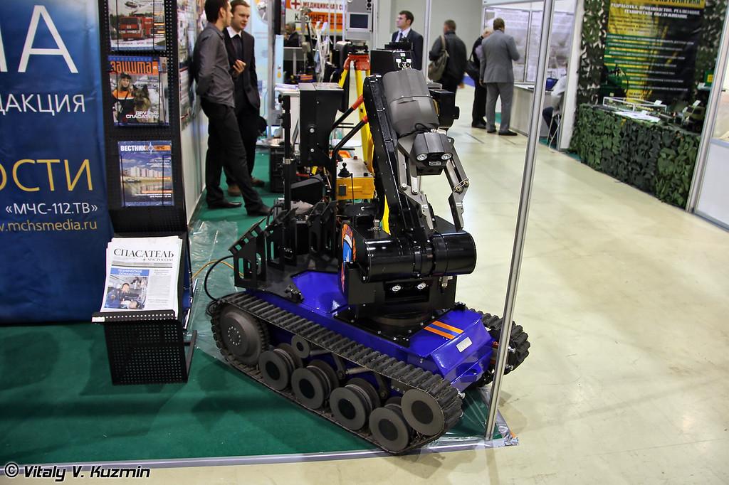 Мобильный робототехнический комплекс tEODor (tEODor robot system)