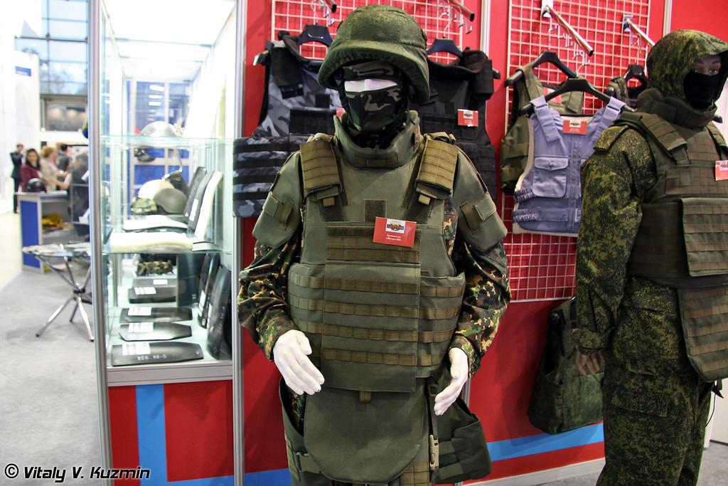 Бронежилет Штурм-ВВ (Shturm-VV bulletproof vest)