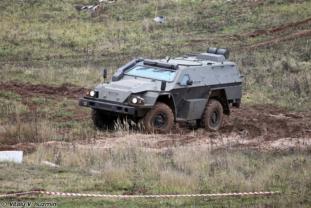 КАМАЗ-43269 Выстрел (KAMAZ-43269 Vistrel armored vehicle)
