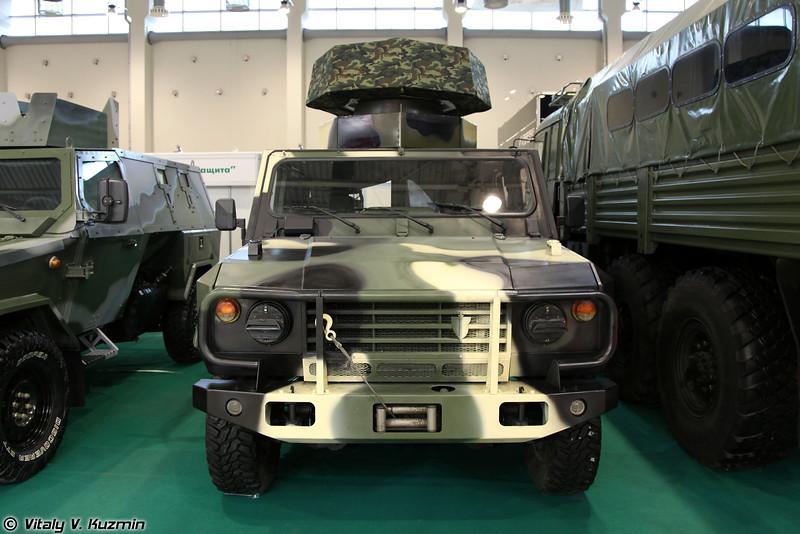 Скорпион-2М со станцией радиотехнической разведки Корсар-М (Skorpion-2M with Korsar-M radar)