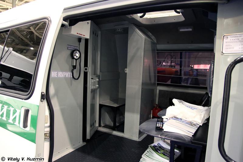 Автомобиль для перевозки заключённых на базе автомобилей ГАЗ (Prisoner transport vehicles based on GAZ vehicles)