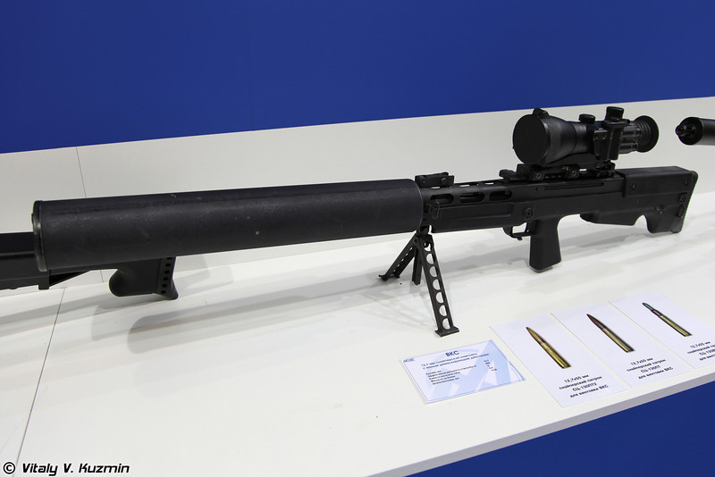 Снайперский комплекс ВКС (VKS sniper rifle)