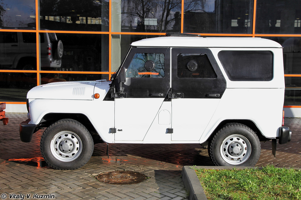 УАЗ-294551 Есаул на базе УАЗ-315195 (UAZ-294551 Esaul on UAZ-315195 base)