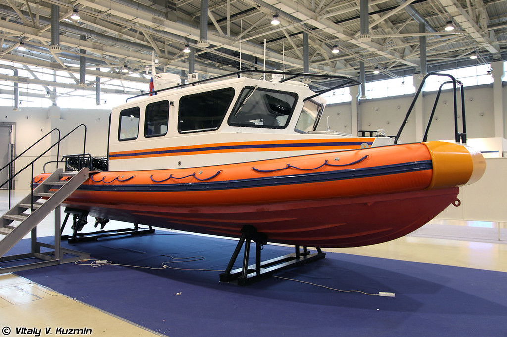 Многофункциональный поисково-спасательный катер Лидер 10 (Lider 10 boat)