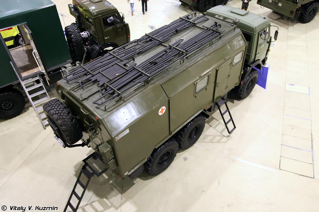 Автоперевязочная АП-2 (AP-2 medic vehicle on KAMAZ-43114 chassis)