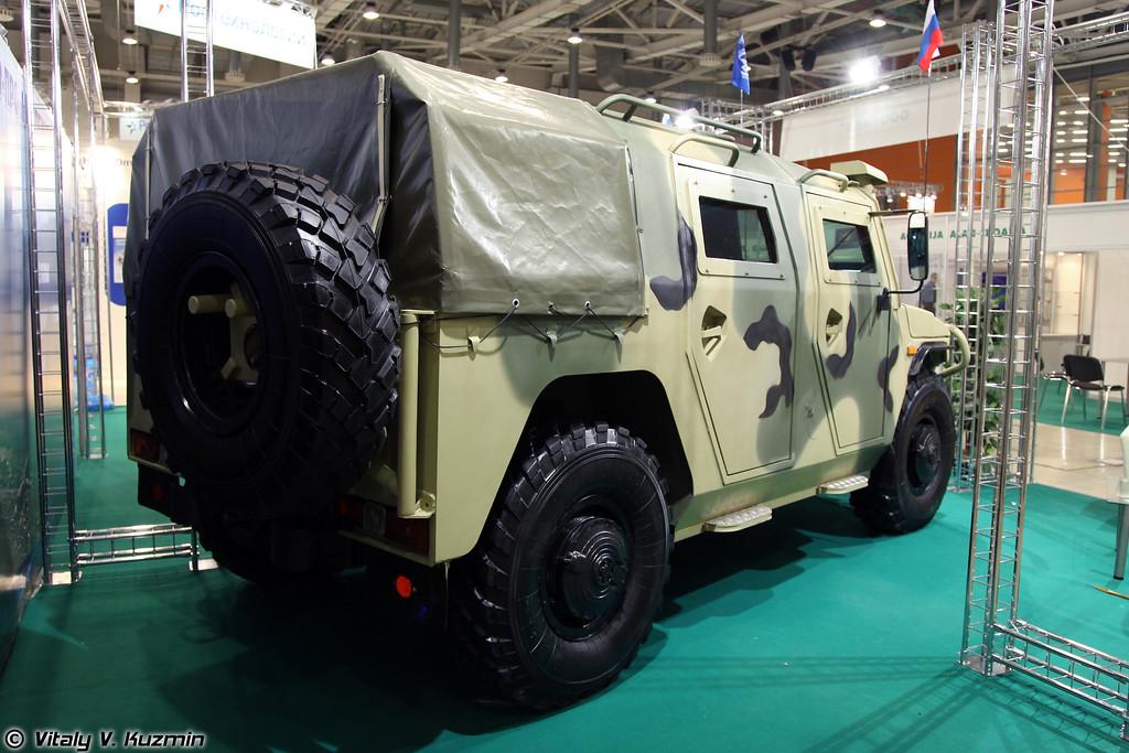 Специальное транспортное средство с повышенным классом защиты Тигр-6а (Tigr-6a)