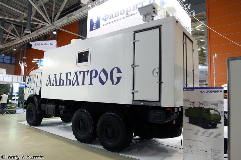 Специальная пограничная машина Альбатрос (Special border guard surveillance vehicle Albatros)