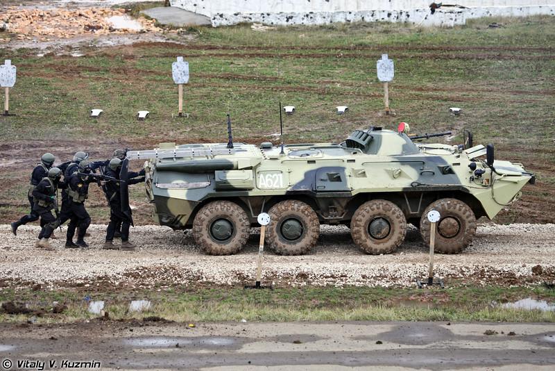 604 ЦСН Витязь ВВ МВД России (604th Special purpose center Vityaz of Internal troops)