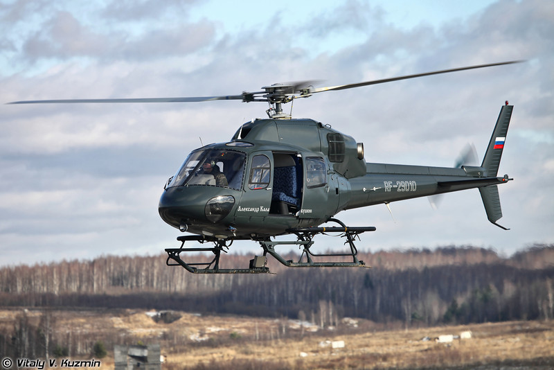AS355N Ecureuil 2 ЦСН СР МВД России (AS355N Ecureil 2 from aviation squadron of Special purpose center of Ministry of Internal Affairs)