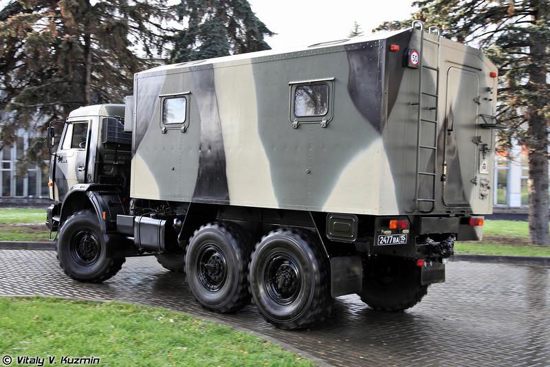 Машина отдыха оперативного состава (Recreation vehicle for officers)