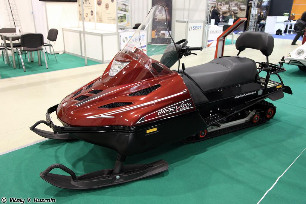 Снегоход Тайга Варяг 550 (Tayga Varyag 550 snowmobile)